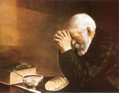 Old Man Prays
