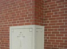 St Anthony - school cornerstone (2009 Nov 19)