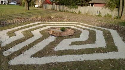 Church Labyrinth Completed
